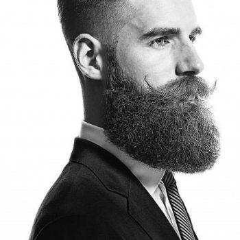 ac beard zwart & wit